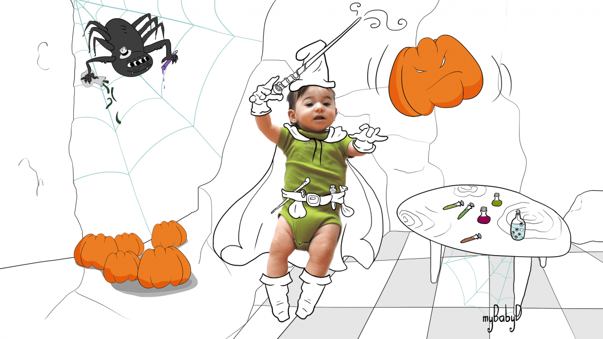Special Personalised Halloween Party Invitations!