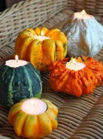 pumpkins candles